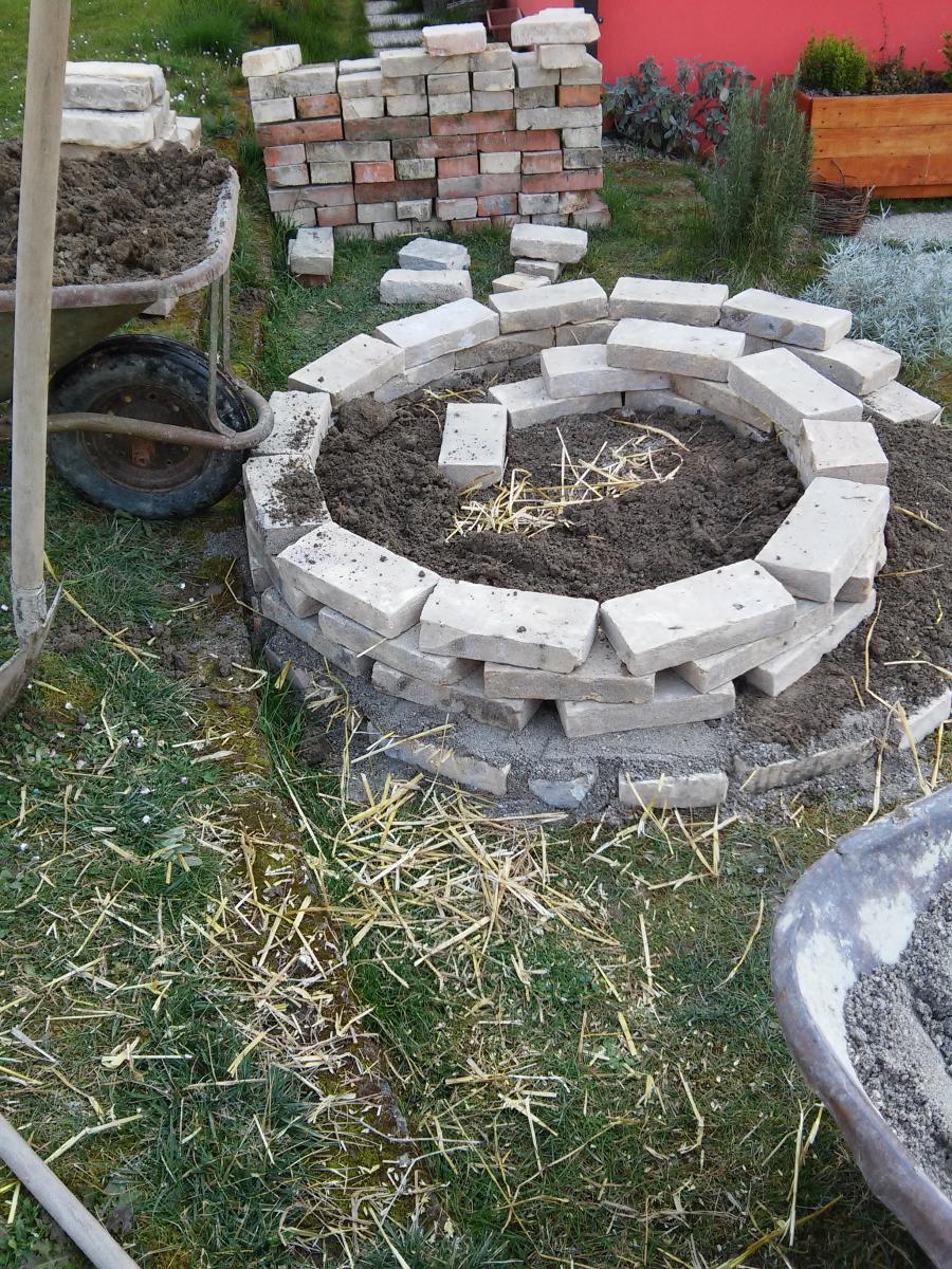 La spirale delle erbe aromatiche pratichiamo il futuro - Idee per aiuole giardino ...