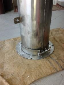 Pirolitic stove